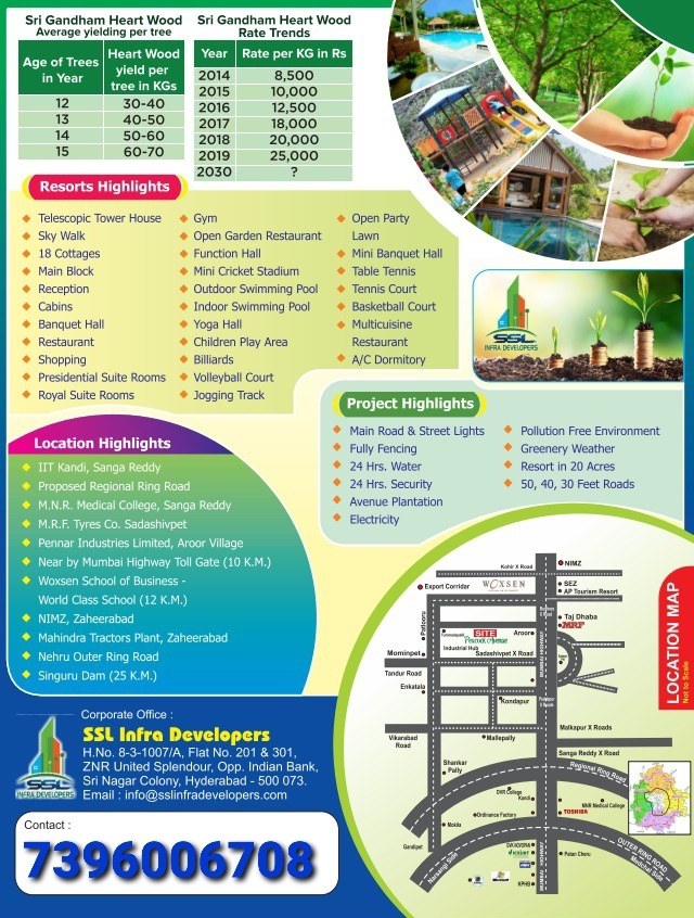 Brocher Buy A Plot Get Monthly Income, Sangareddy, Telangana